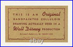 101 Dalmatians Pongo Original Production Cels Disney 1961 Art Corner