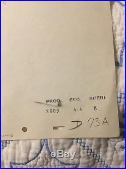 1940 RARE WALT DISNEY PINOCCHIO (cel)ORIGINAL PRODUCTION ANIMATION DRAWING