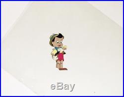 1940 Very Rare Walt Disney Pinocchio Original Production Animation Cel