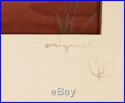 1946 Walt Disney Signed Song Of The South Original Production Cel & Background