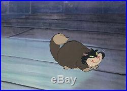 1950 Rare Walt Disney Cinderella Lucifer Cat Original Production Animation Cel