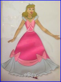 1950 Rare Walt Disney Cinderella Original Production Animation Cel