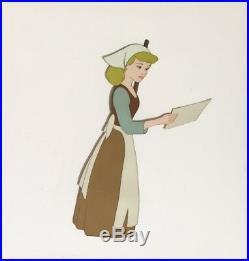 1950 Rare Walt Disney Cinderella Original Production Animation Cel Celluloid