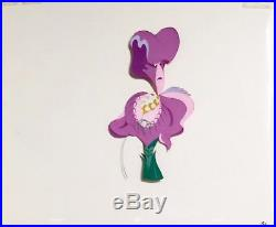 1951 Disney Alice In Wonderland Iris Flower Original Production Animation Cel