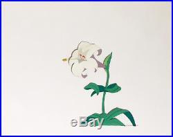 1951 Disney Alice In Wonderland Lily Flower Original Production Animation Cel