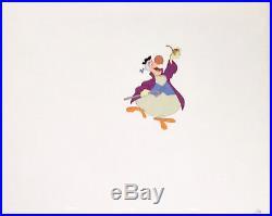 1951 Rare Disney Alice In Wonderland Dodo Bird Original Production Animation Cel