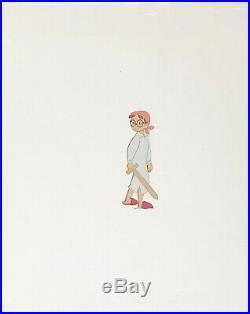 1953 Rare Disney Peter Pan Wendy John Michael Original Production Animation Cel