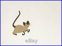 1955 Disney Lady And The Tramp Si And Am Cats Original Production Animation Cel