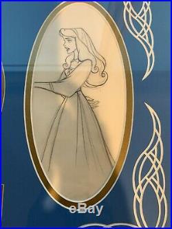 1959 Disney Sleeping Beauty Briar Rose Original Production Animation Drawing Cel