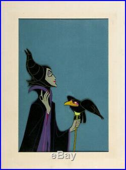 1959 Disney Sleeping Beauty Original Maleficent Production Cel