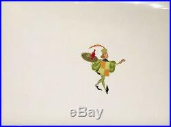 1959 Rare Walt Disney Sleeping Beauty Lackey Original Production Animation Cel