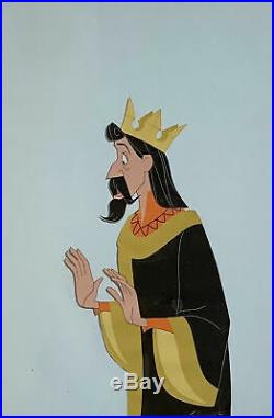 1959 Walt Disney Sleeping Beauty King Stefan Original Production Animation Cel