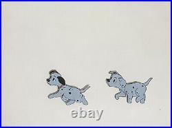1961 Disney 101 Dalmatians Perdita Puppy Dog Original Production Animation Cel