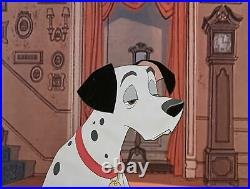 1961 Disney 101 Dalmatians Pongo Puppy Dog Original Production Animation Cel