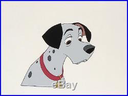 1961 Rare Walt Disney 101 Dalmatians Pongo Dog Original Production Animation Cel