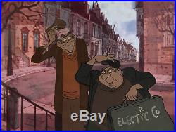 1961 Walt Disney 101 Dalmatians Horace Jasper Original Production Animation Cel
