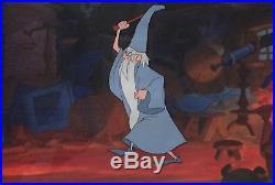 1963 Disney Sword In The Stone Merlin Wizard Original Production Animation Cel