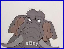 1967 Disney Jungle Book Colonel Hathi Elephant Original Production Animation Cel