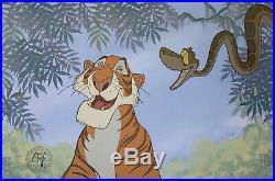 1967 Rare Disney Jungle Book Shere Khan Kaa Original Production Animation Cel