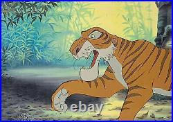 1967 Rare Walt Disney Jungle Book Shere Khan Original Production Animation Cel