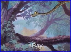 1967 Rare Walt Disney The Jungle Book Kaa Original Production Animation Cel