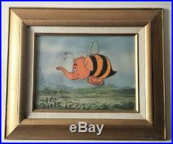 1968 Rare Walt Disney Winnie The Pooh HEFFABEE Original Production Animation Cel