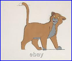 1970 Disney The Aristocats Thomas Omalley Cat Original Production Animation Cel