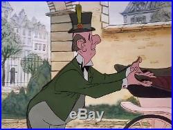 1970 Rare Walt Disney The Aristocats Edgar Original Production Animation Cel
