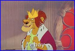1971 Disney Bedknobs And Broomsticks King Lion Original Production Animation Cel