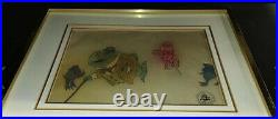 1971 Disney Bedknobs and Broomsticks Animated Production Cel RARE