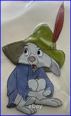 1973 Disney Original Production Cel of Skippy Rabbit from Robin Hood