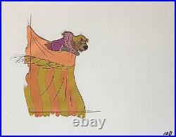 1973 Disney Robin Hood Little John Sheriff Original Production Animation Cel