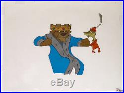 1973 Disney Robin Hood Prince John Sir Hiss Original Production Animation Cel