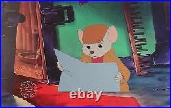 1977 Rare Walt Disney The Rescuers Bernard Original Production Animation Cel