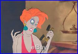1977 Walt Disney The Rescuers Madame Medusa Original Production Animation Cel