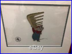 1977 Walt Disney The Rescuers Original Production Animation Cel