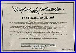 1981 Walt Disney The Fox And The Hound Tod Original Production Animation Cel