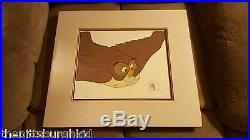1983 Disney Winnie the Pooh and a Day for Eeyore Owl Movie Production Cel