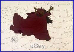 1985 Disney The Black Cauldron Horned King Original Production Animation Cel