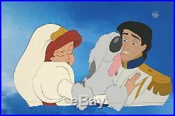 1989 Disney The Little Mermaid Ariel Eric Max Original Production Animation Cel