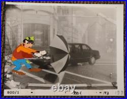 1990 Disney Chevy Lumina Car Commercial Original Production Cel Goofy Auto