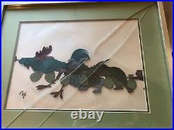 2 Original Disney Production Cels Robin Hood RARE