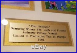 3 pieces, Disney's Little Mermaid Ariel Production cel, bonus collectibles stamps