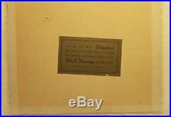 BRIAR ROSE Sleeping Beauty DISNEYLAND GOLD STICKER DISNEY PRODUCTION CEL 1959