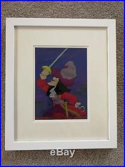 Captain Hook Vintage Walt Disney Villain Production Cel Peter Pan 1953