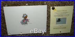 DISNEY 1960's LUDWIG VON DRAKE PRODUCTION ANIMATION ART CEL SET-NEAR MINT/MINT