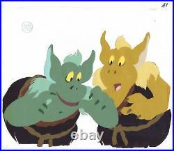 Disney Adventures of Gummi Bears Production Cel with Disney Seal and COA 1985-91