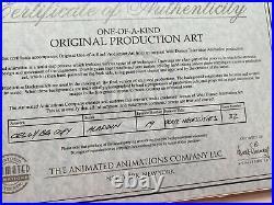 Disney Aladdin TV Production Cels Aladdin And Jasmine Season 1 Episode 21
