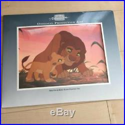 Disney Animation Cel Lion King Original Production Art Very Rare Anime A49