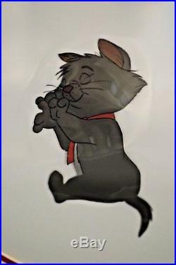 Disney Aristocats Berlioz Production Cel